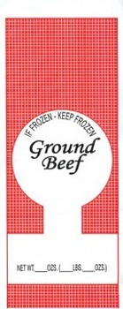 Picture of item 969-760 a BAG 2# GROUND BEEF.