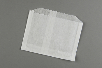 "Picture of item 203-301 a French Fry Bag.  Grease Resistant Paper.  4-1/2"" x 3-1/2"".  Plain (Unprinted)."