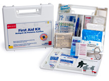 Picture of item 965-302 a Bulk First Aid Kit, 10 Person, Plastic Case, Each