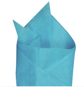 Picture of item 864-093 a TISSUE BRIGHT TURQUOISE 20X30.